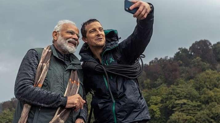 Bear Grylls- PM Modi- India TV