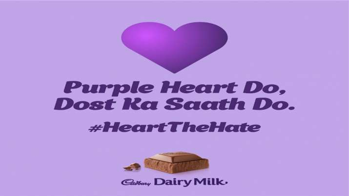 Cadbury Dairy Milk's 'Purple Heart' Campaign- India TV Paisa