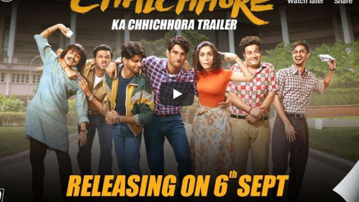 Chhichhore Trailer- India TV