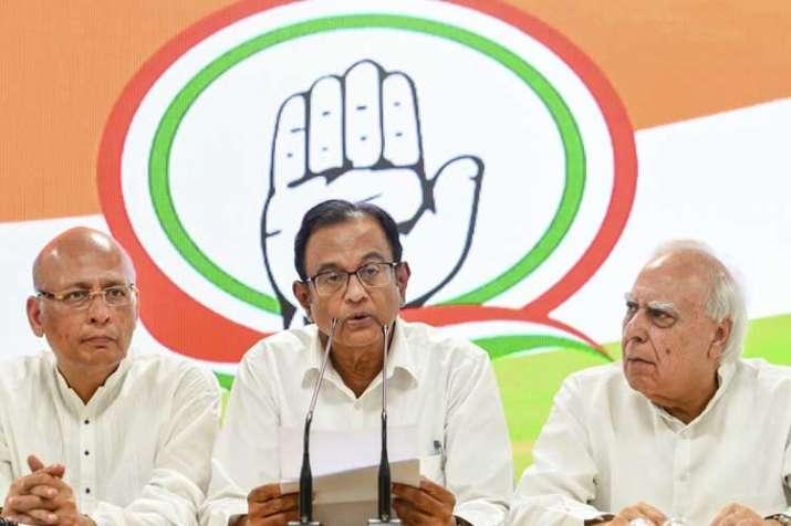 Congress leader P Chidambaram- India TV