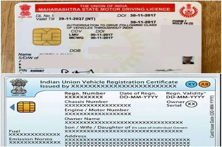 driving licences rcs format to change from 1st october in