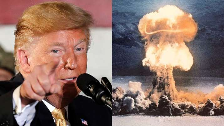 Donald Trump reportedly suggested nuking hurricanes to stop them from hitting US | AP/Public Domain- India TV