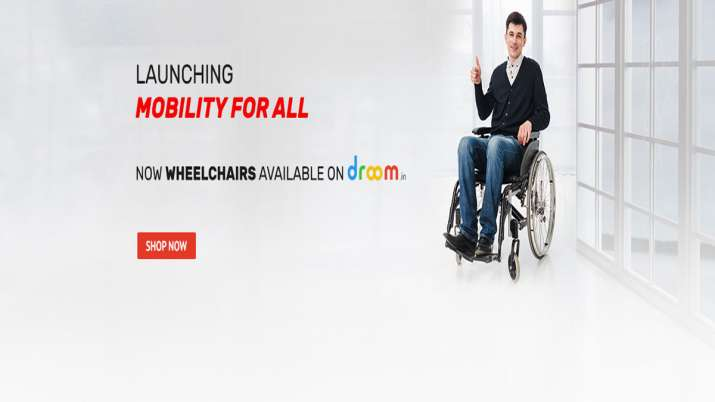 Droom launches electric wheelchairs on its online platform- India TV Paisa