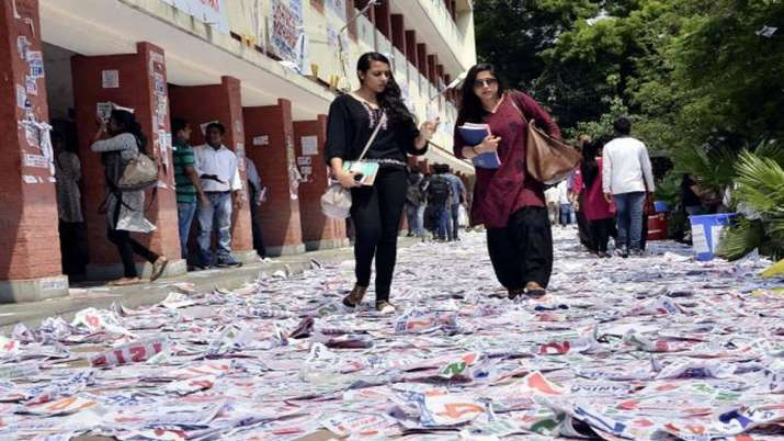 DUSU Elections 2019 dates declared- India TV