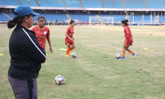 indian womens football team captain - 578×347