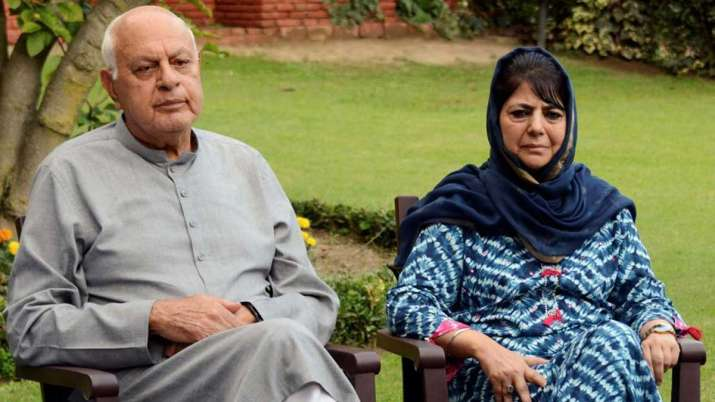 Farooq abdullah and mehbooba mufti- India TV