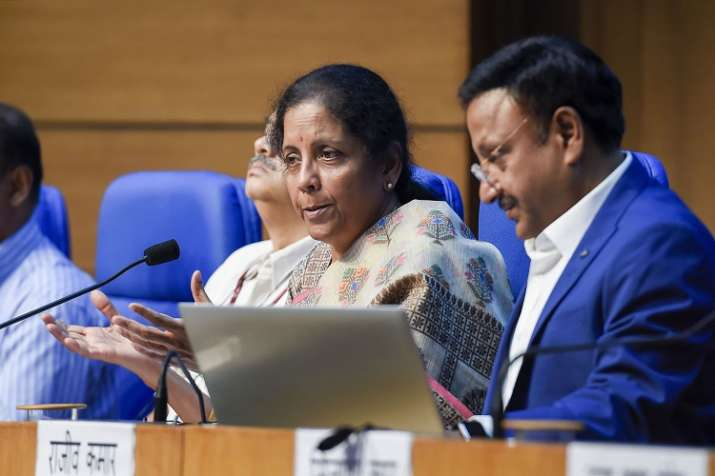 Finance minister Nirmala Sitharaman - India TV Paisa