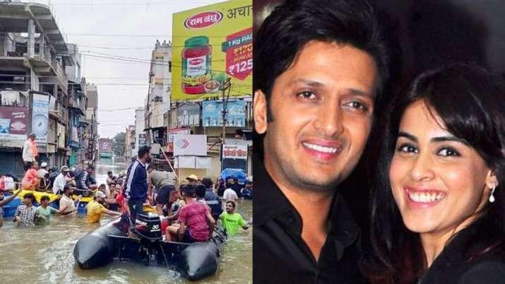 genelia d'souza- ritesh deshmukh- India TV