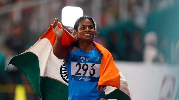 विश्व चैंपियनशिप के लिए दुती चंद को मिला वीजा, विदेश और खेल मंत्री को किया धन्यवाद- India TV
