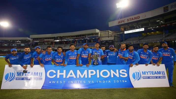 टीम इंडिया ने...- India TV