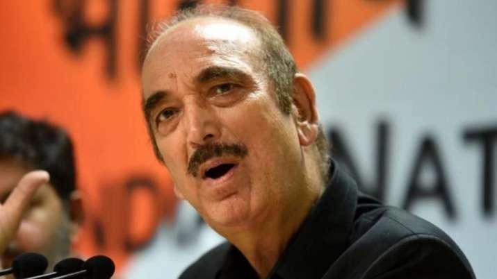 Ghulam Nabi Azad   PTI File- India TV