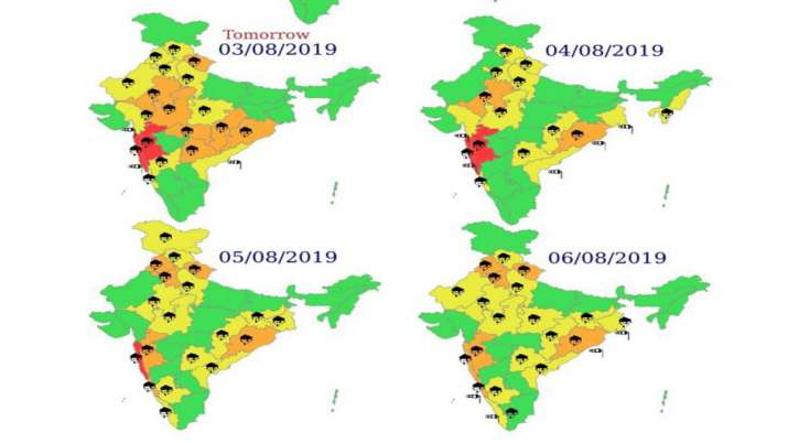 Monsoon rain forecast in Delhi Punjab Haryana and Uttar Pradesh by IMD- India TV