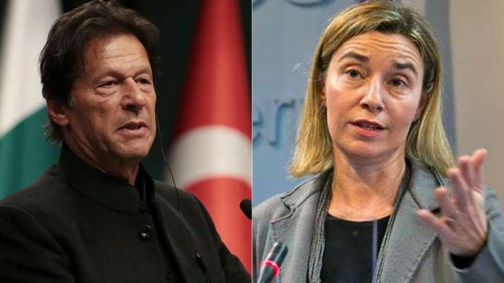 European Union calls for dialogue between India and Pakistan on Kashmir dispute   AP File- India TV