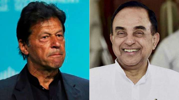 Imran Khan is a parrot of ISI, speaking its language, says Subramanian Swamy | AP/PTI File- India TV