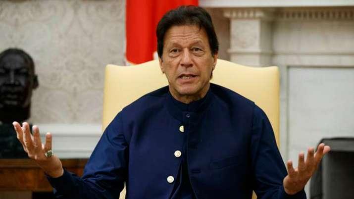 Imran Khan slams Indian govt over Kashmir issue- India TV
