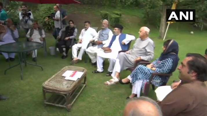 Leaders of political parties of Jammu and Kashmir- India TV