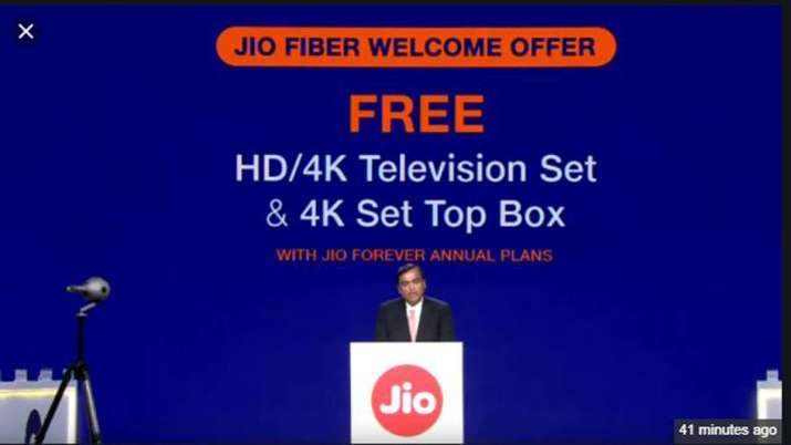 Jio pan-India broadband service launch from Sept 5 with unlimited free call- India TV Paisa