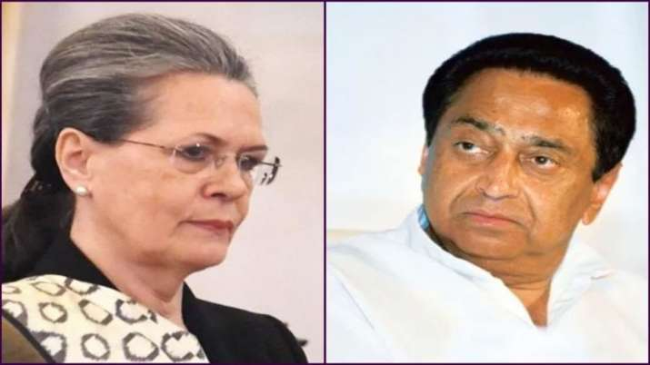 Kamalnath Meets Sonia Gandhi over MP PCC Chief appointment- India TV