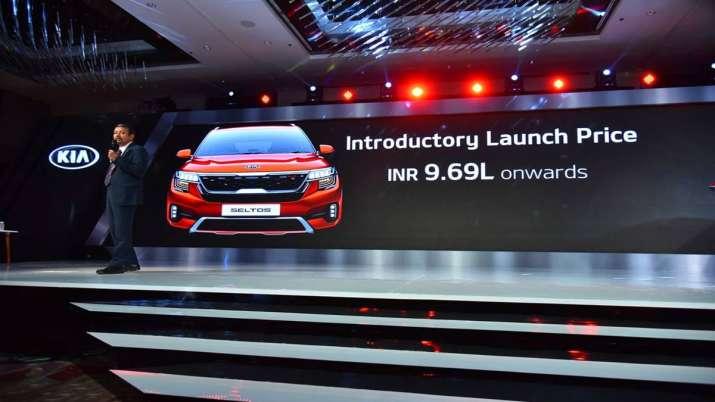 Kia Motors launches Seltos SUV at starting of Rs 9.69 lakh- India TV Paisa