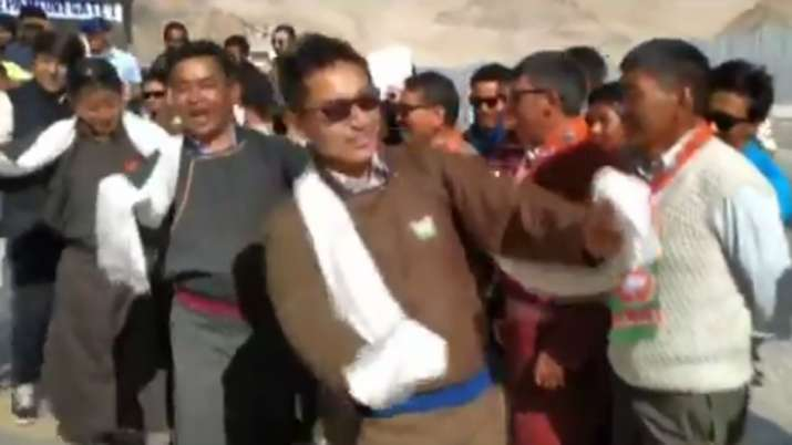 Independence Day 2019: Ladakh MP Jamyang Namgyal wows with dance moves- India TV