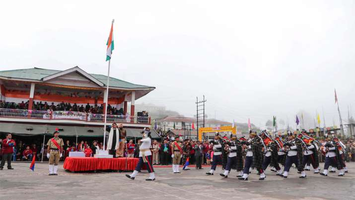 Ladakh celebrates '1st Independence Day' after being declared UT- India TV