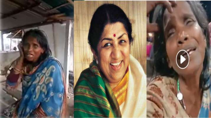 makeover of the woman who sings lata mangeshkar song- India TV