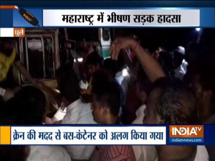 Bus Accident - India TV
