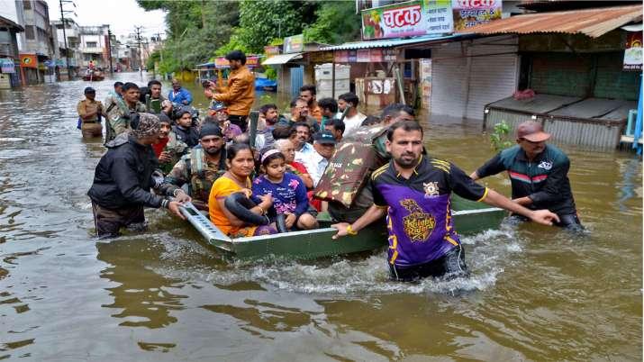 Maharashtra Flood- India TV