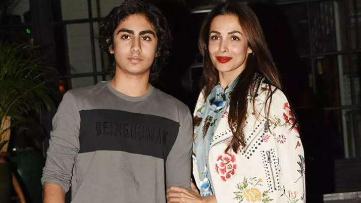 Malaika arora with son Arhaan khan- India TV