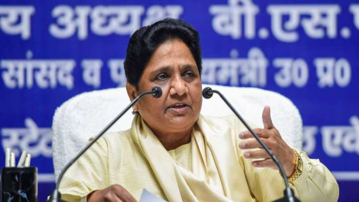 Mayawati targets Congress party and Rajasthan Government over release of Pehlu Khan case accused- India TV