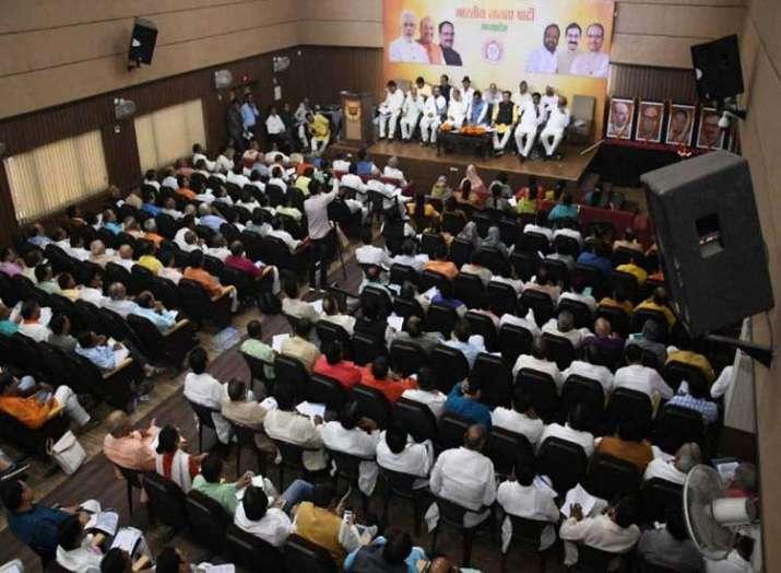 Madhya Pradesh BJP Meeting- India TV