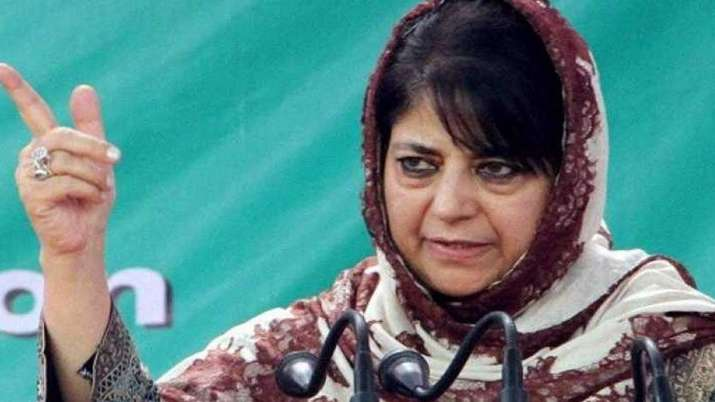 Any step towards modulating 35A and 370 could be very dangerous, says Mehbooba Mufti | PTI File- India TV