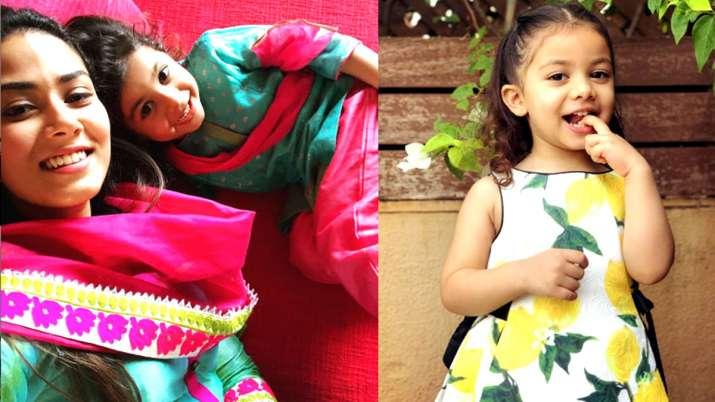 बेटी मीशा के साथ मीरा राजपूत- India TV