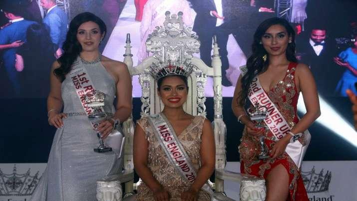 Indian-origin doctor Bhasha Mukerjee wins Miss England crown 2019- India TV