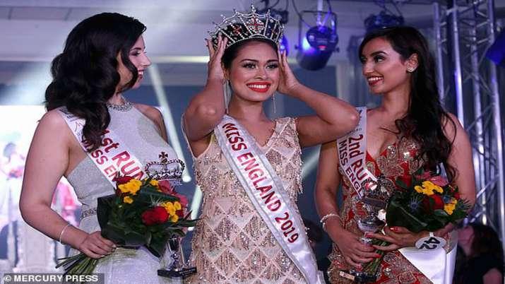 Indian-origin doctor Bhasha Mukerjee wins Miss England crown 2019