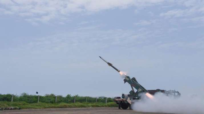 DRDO successfully flight tested Quick Reaction Surface...- India TV