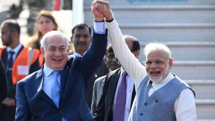 Narendra Modi and Benjamin Netanyahu- India TV