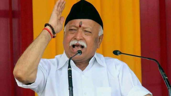 RSS Chief Mohan Bhagwat's statement on Independence Day- India TV