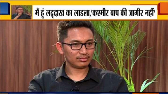 जामयाल सेरिंग नामग्याल- India TV