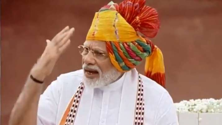 Pm Narendra Modi Speech On Independence Day 2019 LIVE UPDATES- India TV