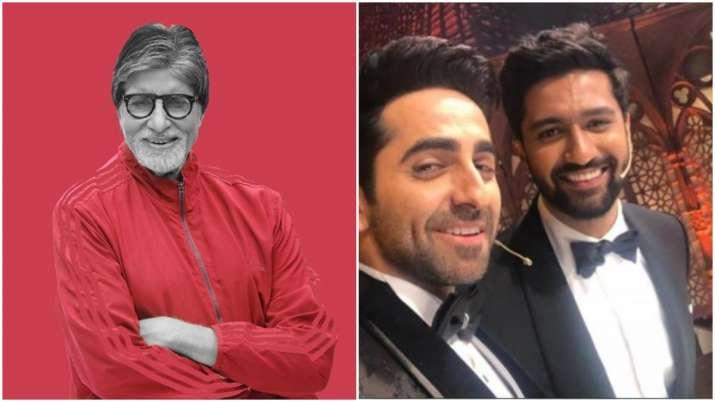 Amitabh bachchan, vicky kaushal and Ayushmann khurrana- India TV