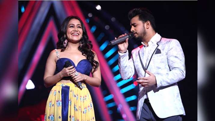 Neha Kakkar and Vibhor Parashar- India TV