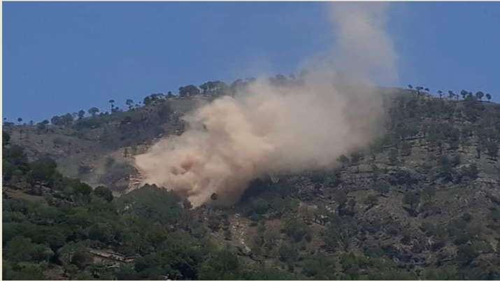 Pakistani post opposite the RAJOURI sector (J&K) has been hit in action by Indian Army- India TV
