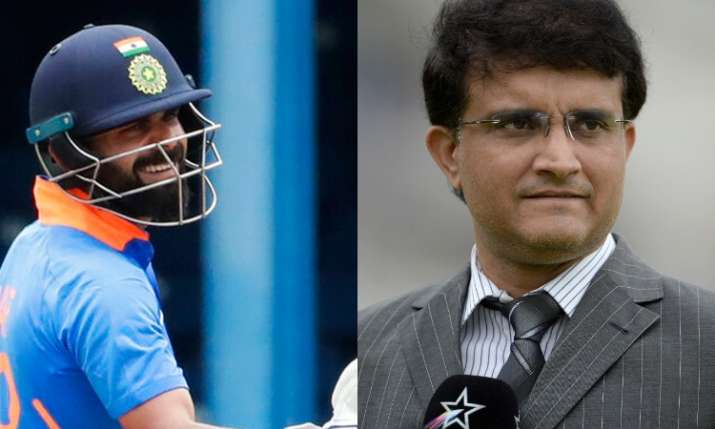Virat Kohli and Sourav Ganguly- India TV