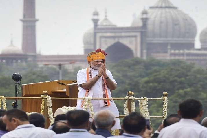 PM Narendra Modi address to the nation on 73rd IndiaIndependenceDay- India TV Paisa