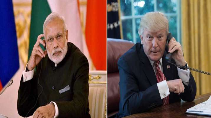 PM Narendra Modi had a telephone conversation today with...- India TV
