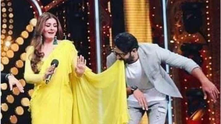Prabhas and Raveena tandon- India TV
