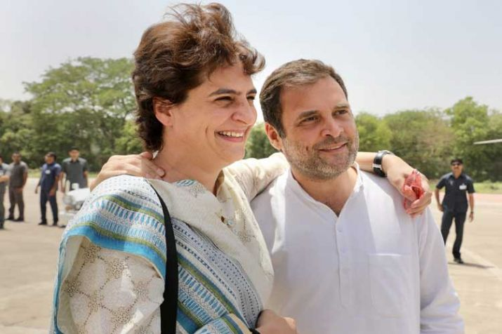 Priyanka Gandhi and Rahul Gandhi- India TV