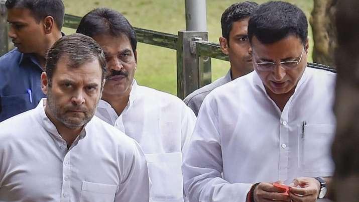 स्वीकार नहीं हुआ राहुल गांधी का इस्तीफा, रात आठ बजे फिर होगी CWC की बैठक: रणदीप सुरजेवाला- India TV