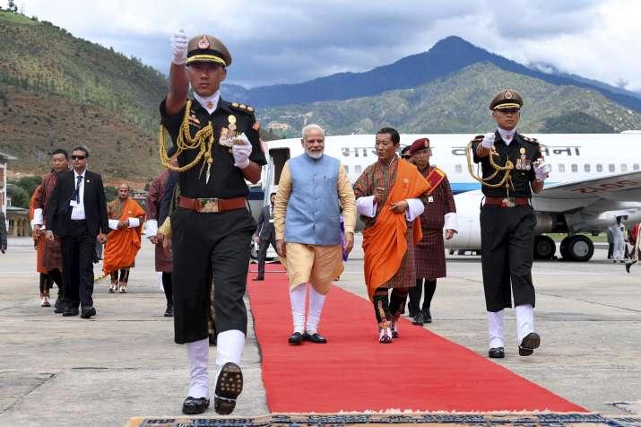 PM Narendra Modi in Bhutan- India TV